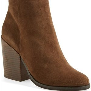 DV by Dolce Vita Genuine Suede Booties ankle boot